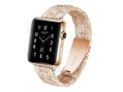 Ремешок Для Часов Из Дышащей Смолы Для Часов Huawei GT / Часы 2 Pro / Samsung Gear S3 Frontier / Gear S3 Classic - Розовый / Белый
