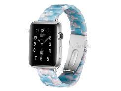 Ремешок Для Часов Из Дышащей Смолы Для Часов Huawei GT / Часы 2 Pro / Samsung Gear S3 Frontier / Gear S3 Classic - Белый / Синий