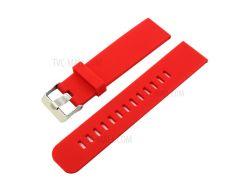 Силиконовый Ремешок На 18 Мм Для Asus ZenWatch 2 - Красный