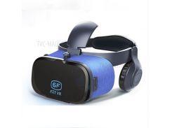 VR 6F Виртуальная Реальность VR Очки Для Мобильных Игровых Кинофильмов С Наушниками Шлем Очки