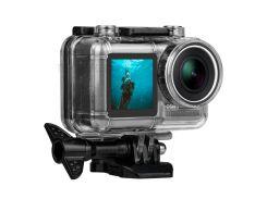 Водонепроницаемый Чехол Для Спортивной Камеры Для DJI Osmo Action Camera - Черный
