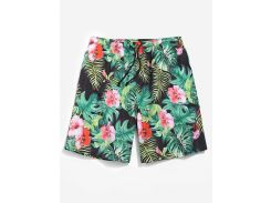 Casual Jungle Flower Shorts