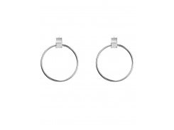 Circle Hollow Out Earrings