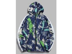 Abstract Art Print Waterproof Jacket