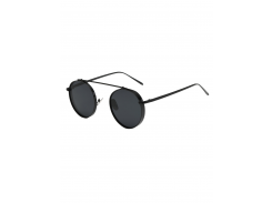 Chunky Frame Round Sunglasses