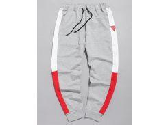 Color Block Applique Jogger Pants