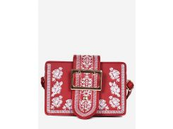 Buckle Ethnic Embroidery Crossbdoy Bag
