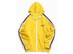 Side Letter Stripe Sunproof Jacket