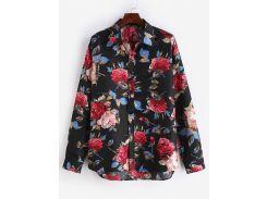 Flowers Printed Casual Shirt
