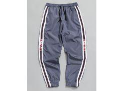 Side Stripe Drawstring Jogger Pants