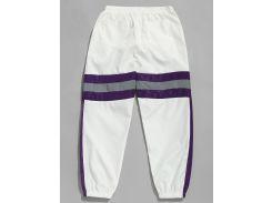 Reflective Strip Contrast Jogger Pants