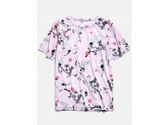 Cranes Print T-shirt