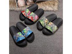 Мужчины Женщины Слайд Сандалии Дизайнерская обувь Роскошные слайды Летняя мода Широкая плоская скользкая с толстыми сандалиями Слиппер Флип-флоп размер 36-45