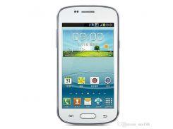 goophone Dual core 3G WCDMA 4G Rom 3MP бар разблокированный телефон Камера Android 4-дюймовый смартфон S7572 сотового телефона с WIFI GPS