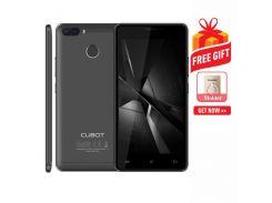 CUBOT H3 3GB+32GB двойной задней камеры идентификации отпечатков пальцев 5.0 дюймов Android 7.0 MTK6737 четырехъядерный процессор до 1.3 ГГц сеть: 4G