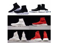 Новый мужской дизайнер обувь Париж известный роскошный бренд обувь с белой текст