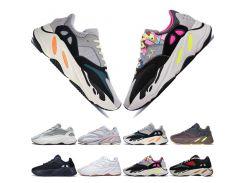2019 New Kanye West 700 V2 Static 3M Mauve Inertia 700s Wave Runner Мужские кроссовки для мужчин Женщины спорти