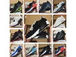 Новые мужчины женская обувь классический 90 мужчин и женщин кроссовки черный крас