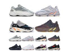 Kanye West 700 V2 Static 3M Mauve Inertia 700s Wave Runner Мужские кроссовки для мужчин Женские спортивные