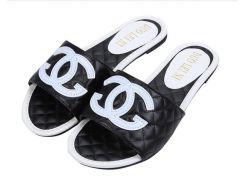 2019 Модный бренд CHANEL Летние удобные Модные плоские слайд повседневные сандалии дл