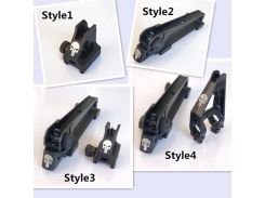 Металл M4 M16 AR15 Съемная ручка для переноски прицел + прицел комбо