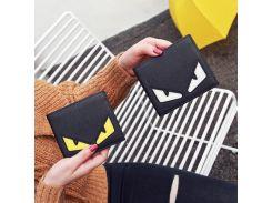 PU и действительно кожа 2017 маленький монстр бумажник мужская с короткими рукавами