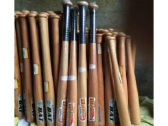 Твердые деревянные бейсбол Бейсбол битой нескользящей древесины БАТЭ тако де baseb