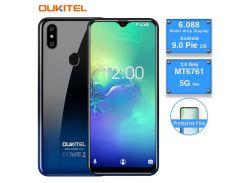 OUKITEL C15 Pro 2 ГБ RAM 16 ГБ ROM Android 9.0 Мобильный телефон MT6761 Отпечаток пальца ID лица 4G LTE Сма