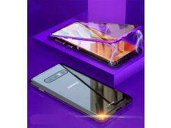 Luphie Магнитная Адсорбция 360 Полный Закаленное Стекло Флип Чехол Для Samsung Galaxy S10 S10 Plu