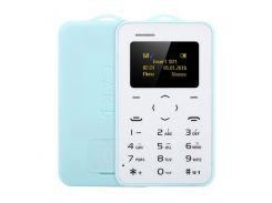 """Быстрая доставка Ультра Тонкий AIEK / AEKU C6 0,96 """"Карточный Телефон Bluetooth 2.0 Календарная"""