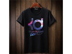 Кд печати футболка мода повседневная фитнес О-образным вырезом мужская Кевин Дюр
