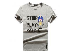 Повседневная Марка мужская Письмо печати хип-хоп топы уличная футболки для летни