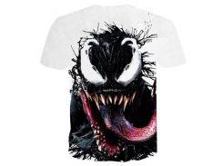 Venom футболка 3D печатных спортивная одежда Мужчины Женщины лето повседневная Tee Marv