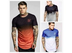 Sik Silk SS Mens Tie-dyed Brand Designer Tshirts Summer Kanye West Short Sleeve Male Tops Free Shipping