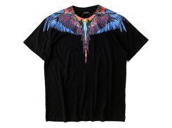 Модные футболки Marcelo Burlon Мужчины Женщины Италия Милан Графство Feather Wings MB Футболка