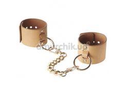 Наручники Bijoux Indiscrets Maze Wide Cuffs, коричневые