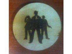 Мафия №2 - Деревянный значек, сувенир