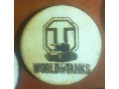 World of Tanks №3 - Деревянный значек, сувенир