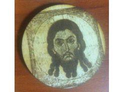 Икона №1 - Деревянный значек, сувенир