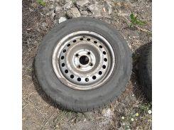 Колесный диск Ланос r13 4x100 стальной с резиной по цене диска, номер 1
