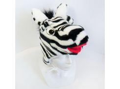 Детская маскарадная шапочка зебры (407)