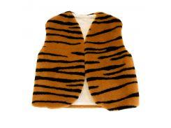 Детский маскарадный жилет 35см тигровый (227-6)