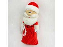 Чехол под шампанское Дед Мороз 40см красный (4541)
