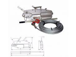 Монтажно-тяговый тросовый механизм 1,6т.