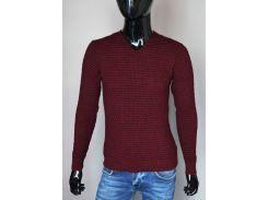 Мужской пуловер Турция А Ш  бордо