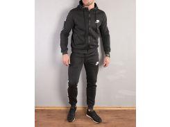 Мужской теплый спортивный костюм Nike ( реплика )с лампасомСЛ