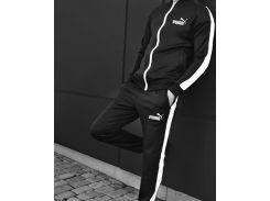 Спортивный костюм мужской   Сл 1256,1257,1258,1259 черный