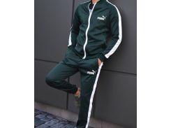 Спортивный костюм мужской   Сл 1256,1257,1258,1259 темно-зеленый