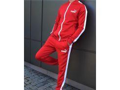 Спортивный костюм мужской   Сл 1256,1257,1258,1259 красный