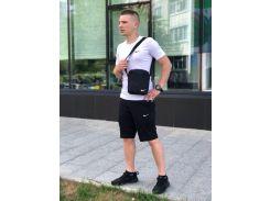 Мужской костюм летний футболка и шорты,барсетка в подарок ДРО